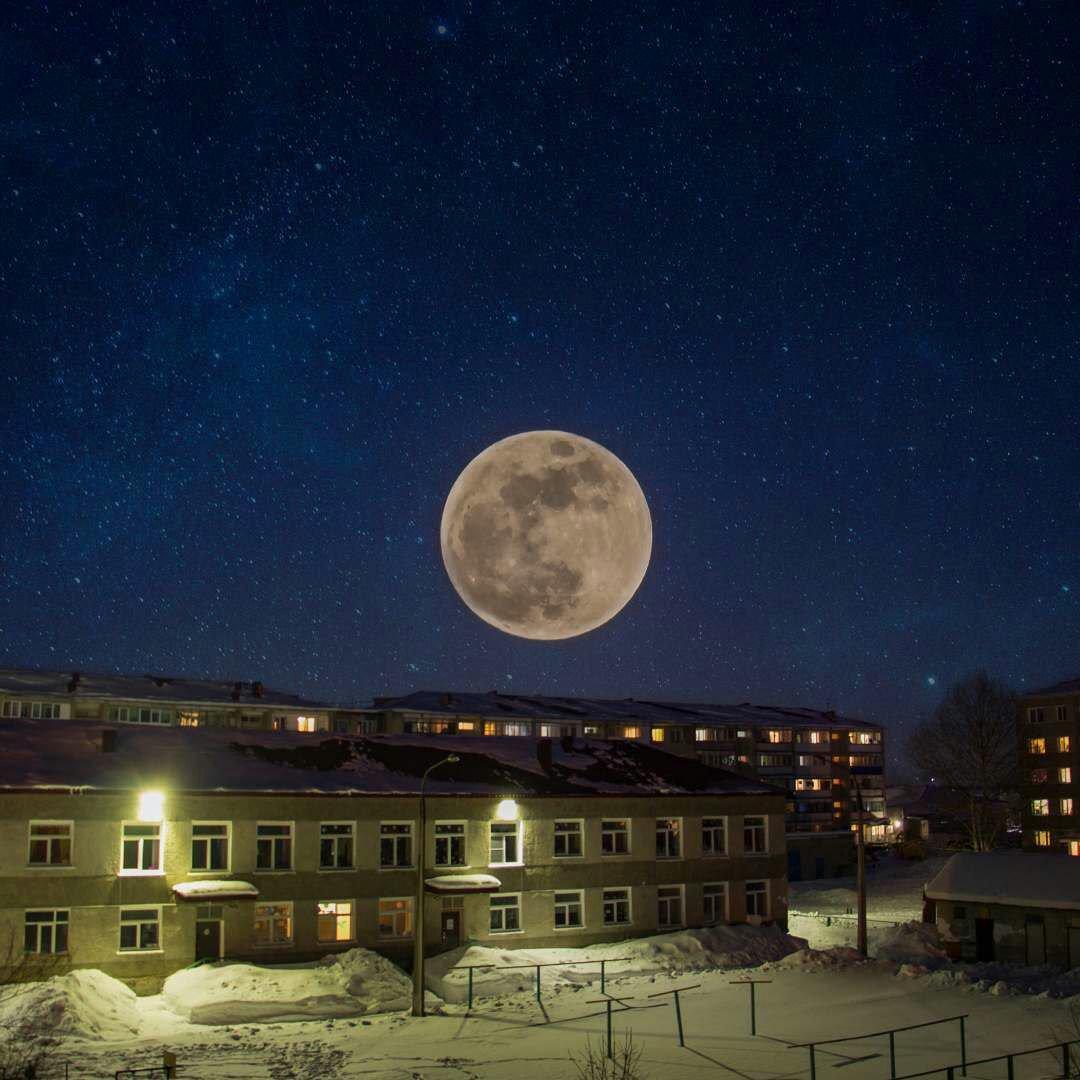 нибудь посмотреть фото луны можно