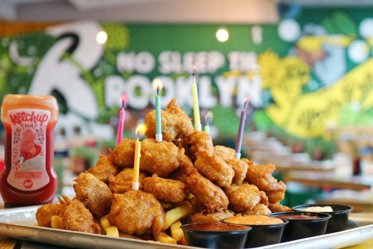 Rub Smokehouse Bar On Twitter Celebrate With A Chicken Nugget