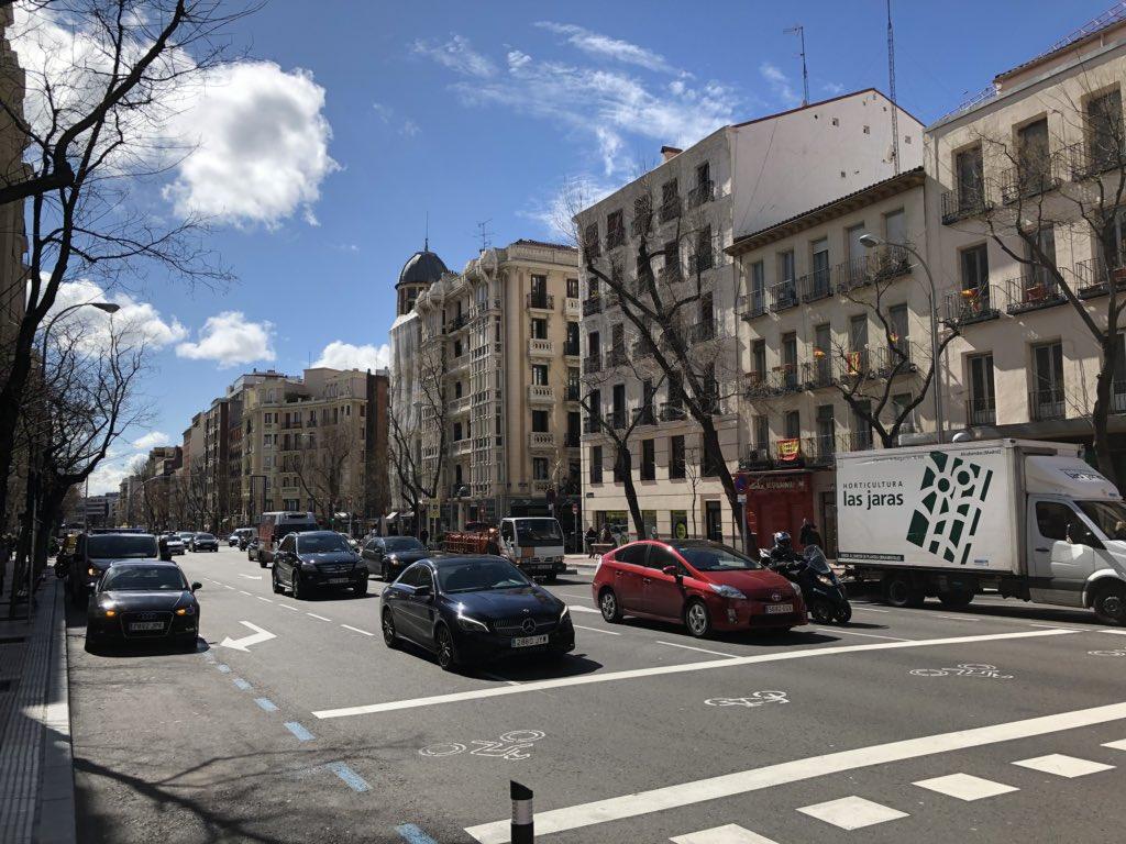 Madrid también ha amanecido preciosa hoy...