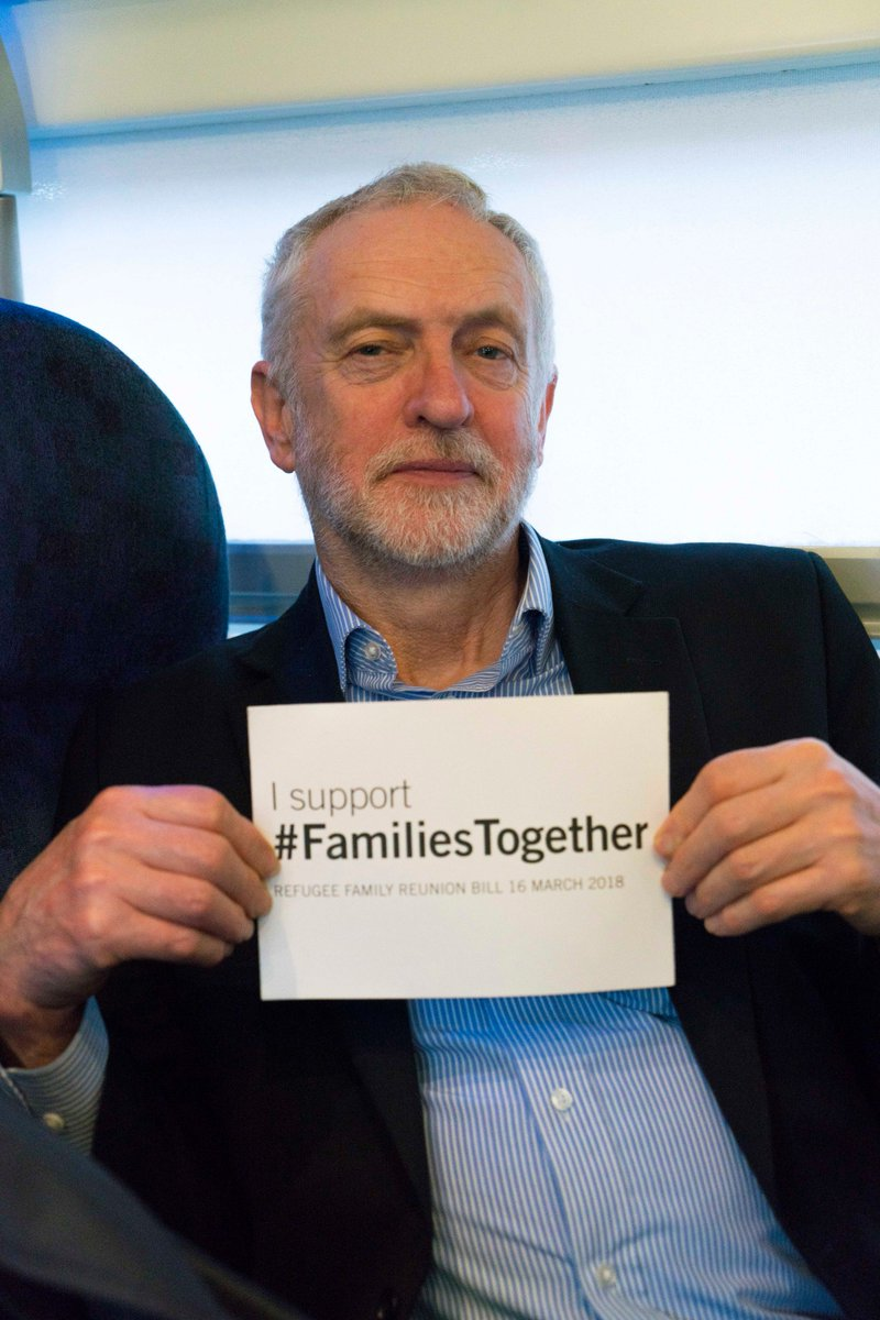 Today I am supporting the #FamiliesTogether Bill to change the unfair Home Office rules which prevent refugee children bringing their close family members to join them in the same way an adult can.  Labour respects the right to a family life.