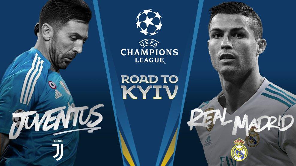 UCL QF : Juventus Vs Real Madrid DYZ97PcX4AAiPdz