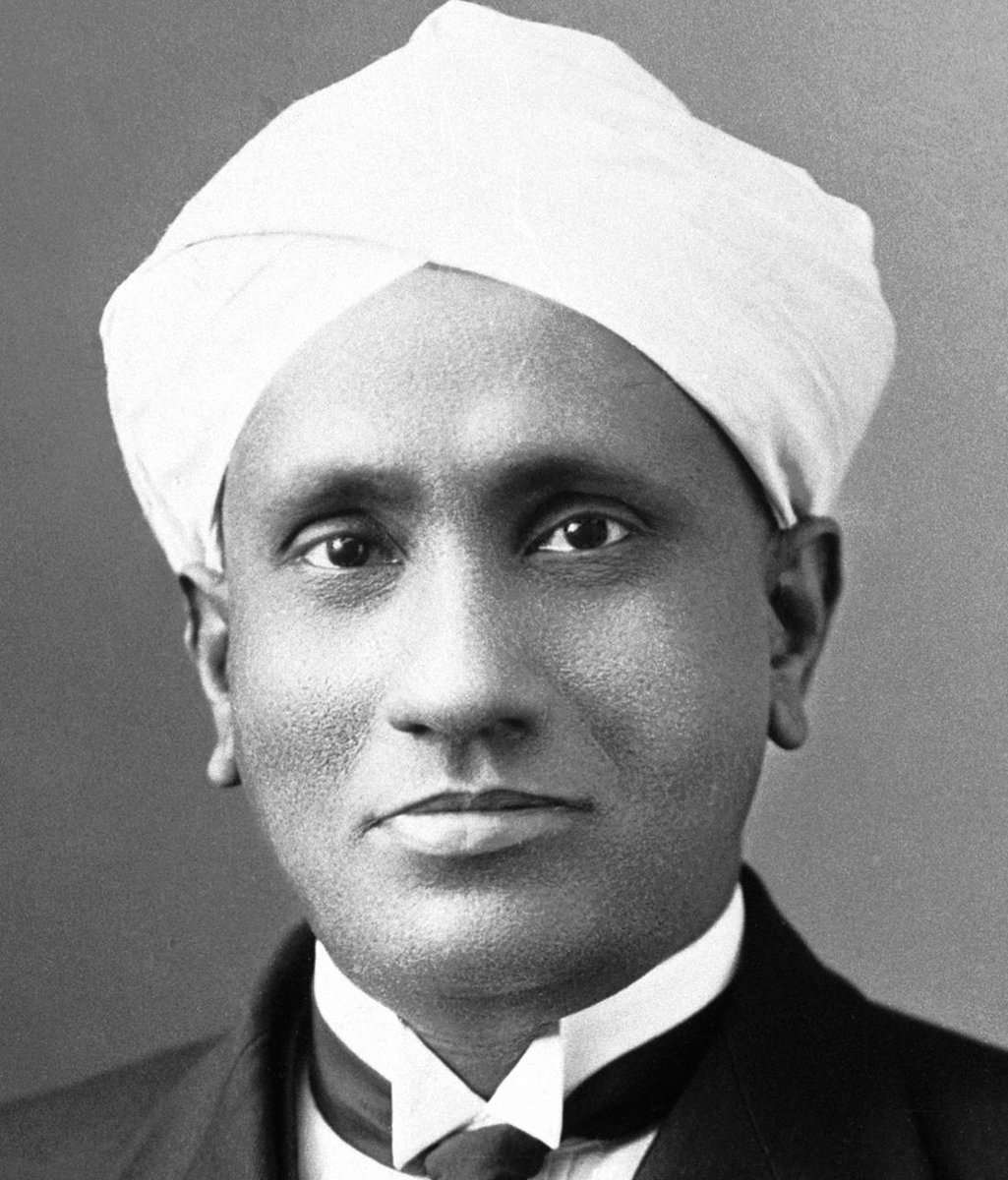 I propose this evening to speak to you on a new kind of radiation or light emission from atoms and molecules. Venkata Raman of Calcutta University 80 years ago on 16 March, 1928. #NobelPrize awarded for the Raman effect.