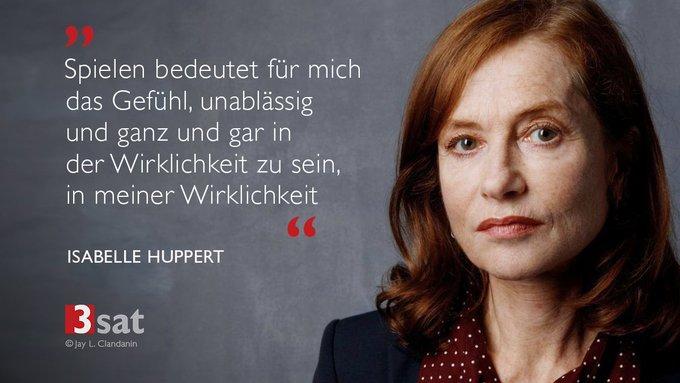Die großartige Schauspielerin Isabelle Huppert feiert heute ihren 65. Geburtstag. Happy Birthday!