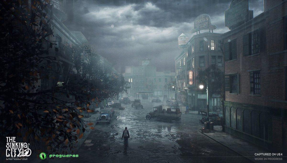 【ニュース】沈みゆく街の謎に私立探偵が迫る、「クトゥルフ神話」をベースにしたオー...