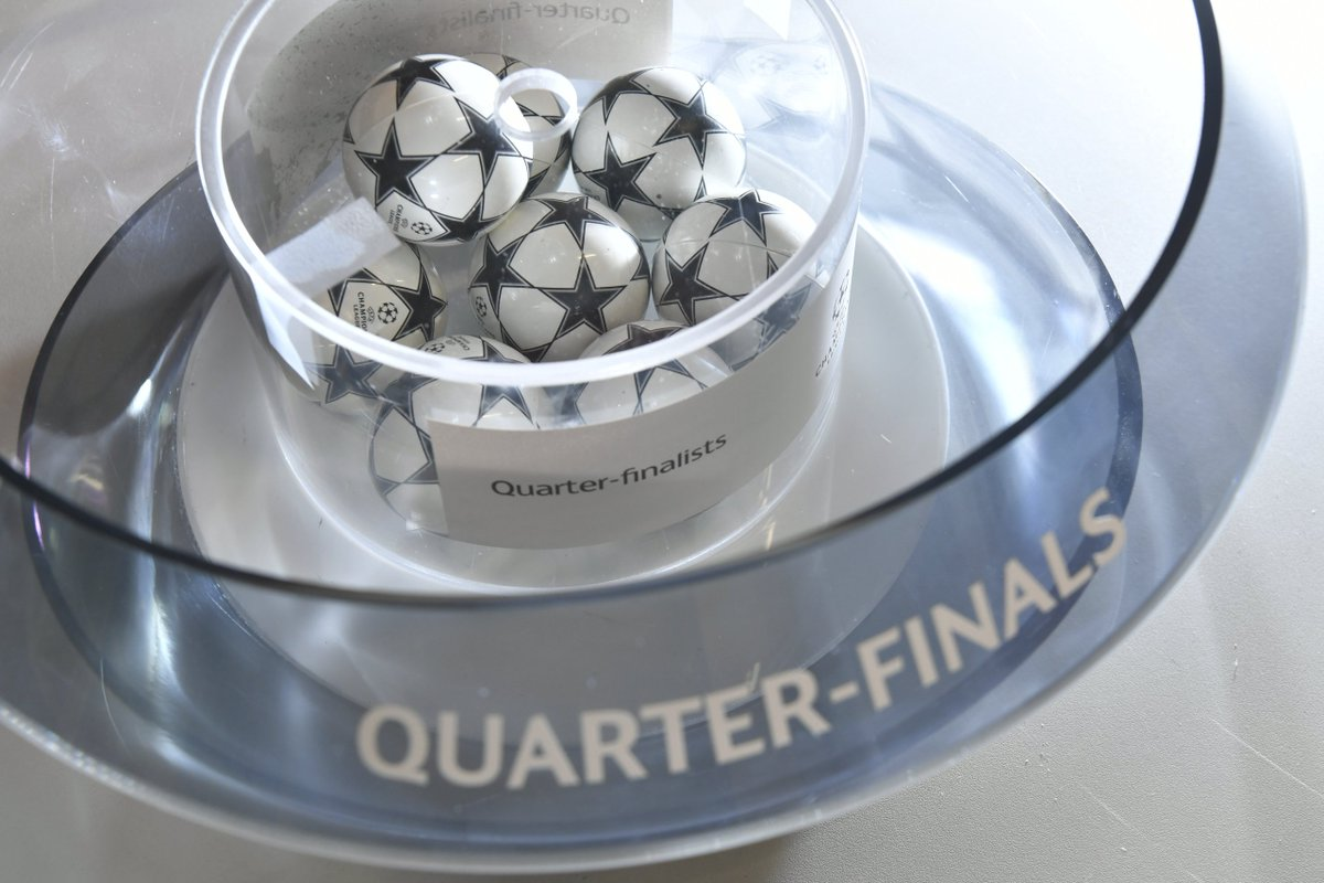 Liverpool Draw Manchester City In Champions League Quarter Finals