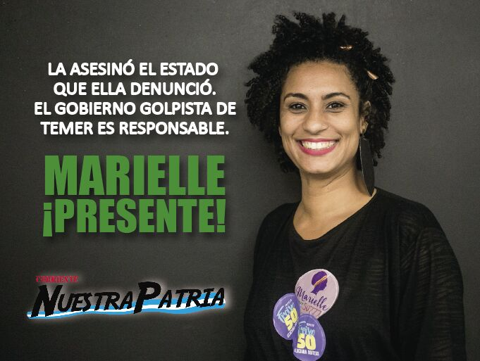 #MariellePRESENTE  #JusticaParaMarielle...