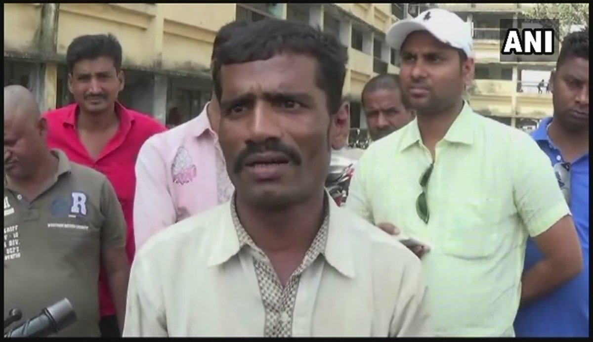 #Darbhanga (Bihar): Around 40-50 men came on 25-30 bikes with hockey sticks & swords. My father went to them to explain the situation, but was beheaded, they also tried to kill my brother: Son of 70-yr-old man who was beheaded for naming a chowk as Narendra Modi chowk