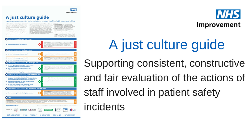 nhs patient safety on twitter   u0026quot a just culture guide has