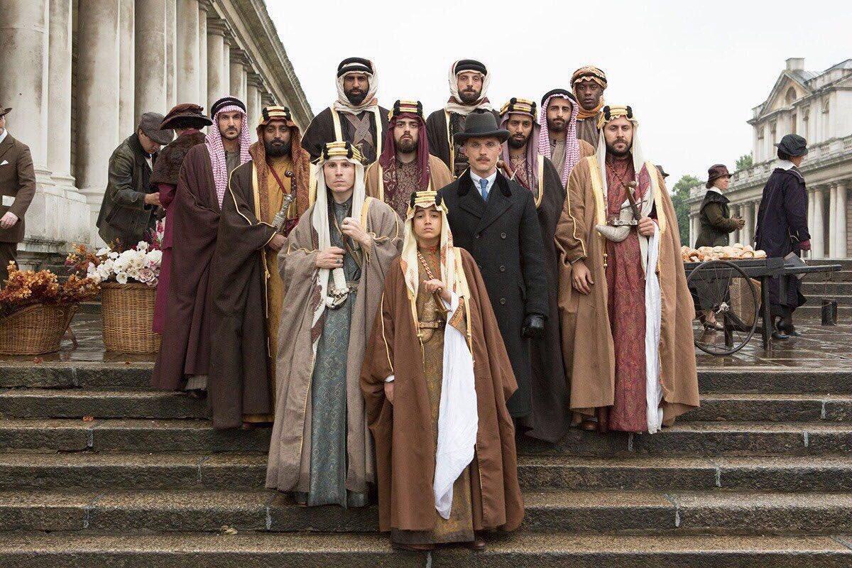 #born_a_king  فلم يجسد قصة #الملك_فيصل_ب...
