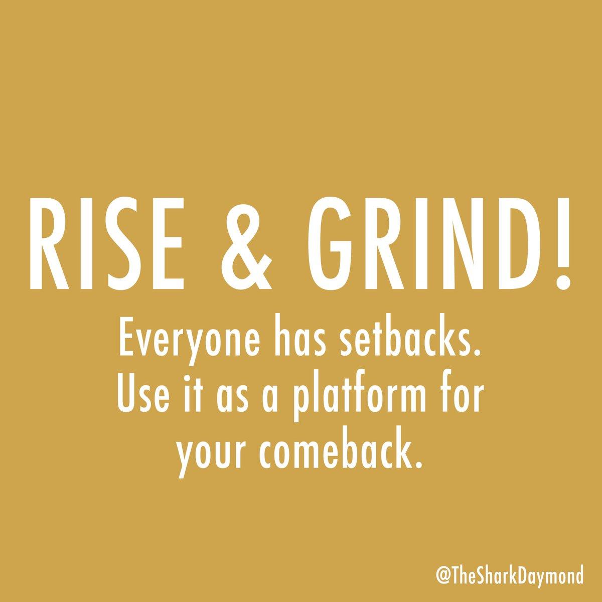 Stop making excuses. #RiseAndGrind