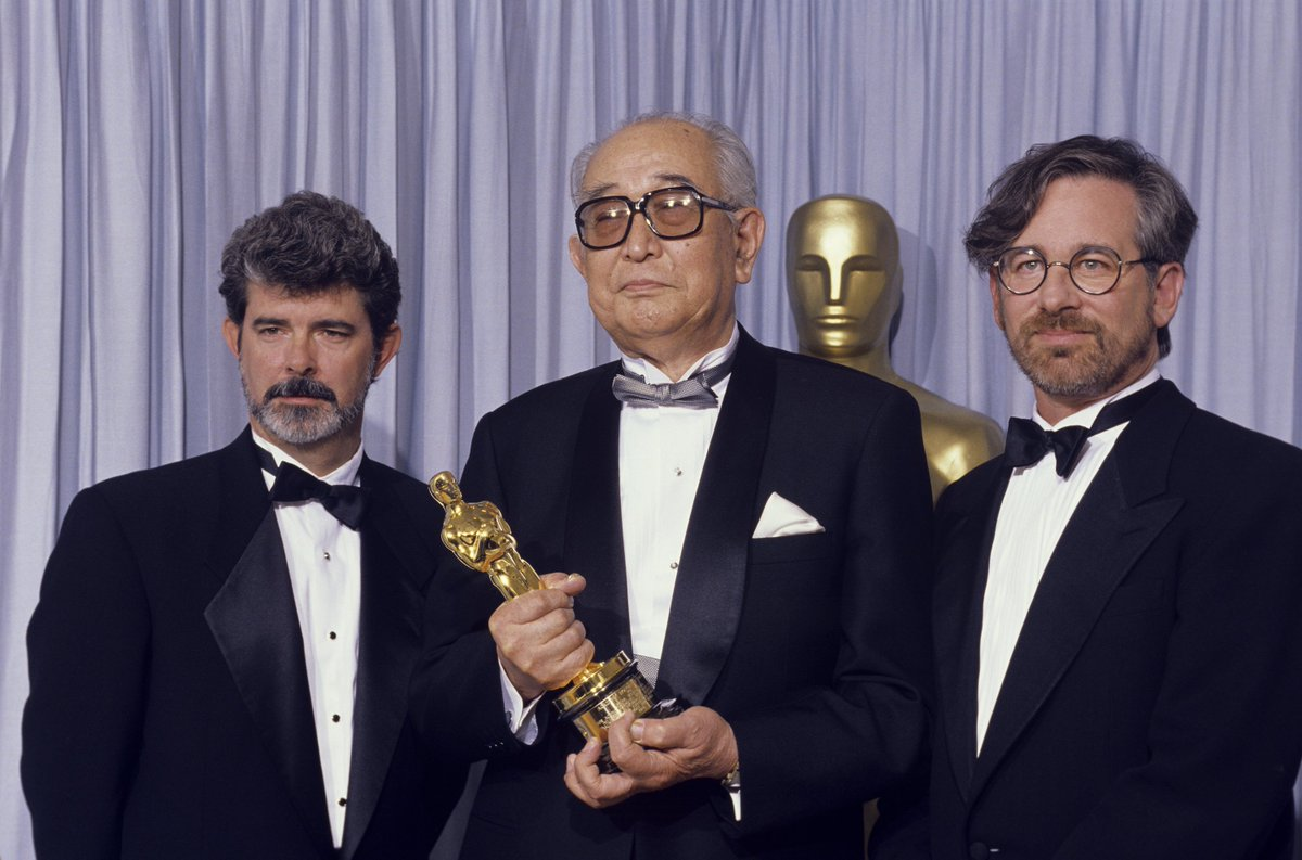 'I'm a little worried, because I don't feel that I understand cinema yet. … Cinema is a marvelous thing, but to grasp its true essence is very, very difficult.' -Akira Kurosawa, while accepting an Honorary Oscar from George Lucas and Steven Spielberg in 1990.