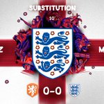 Early change for the #ThreeLions, as @J_Gomez97 limps off.