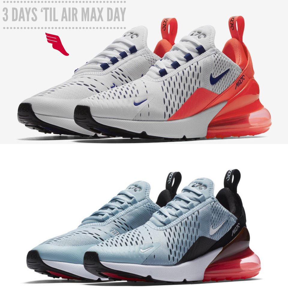 b8af59116b This Air Max 270 features the biggest heel bubble seen on a Nike shoe thus  far. How will you celebrate Nike Air Max Day?pic.twitter.com/owYvcwoC8v