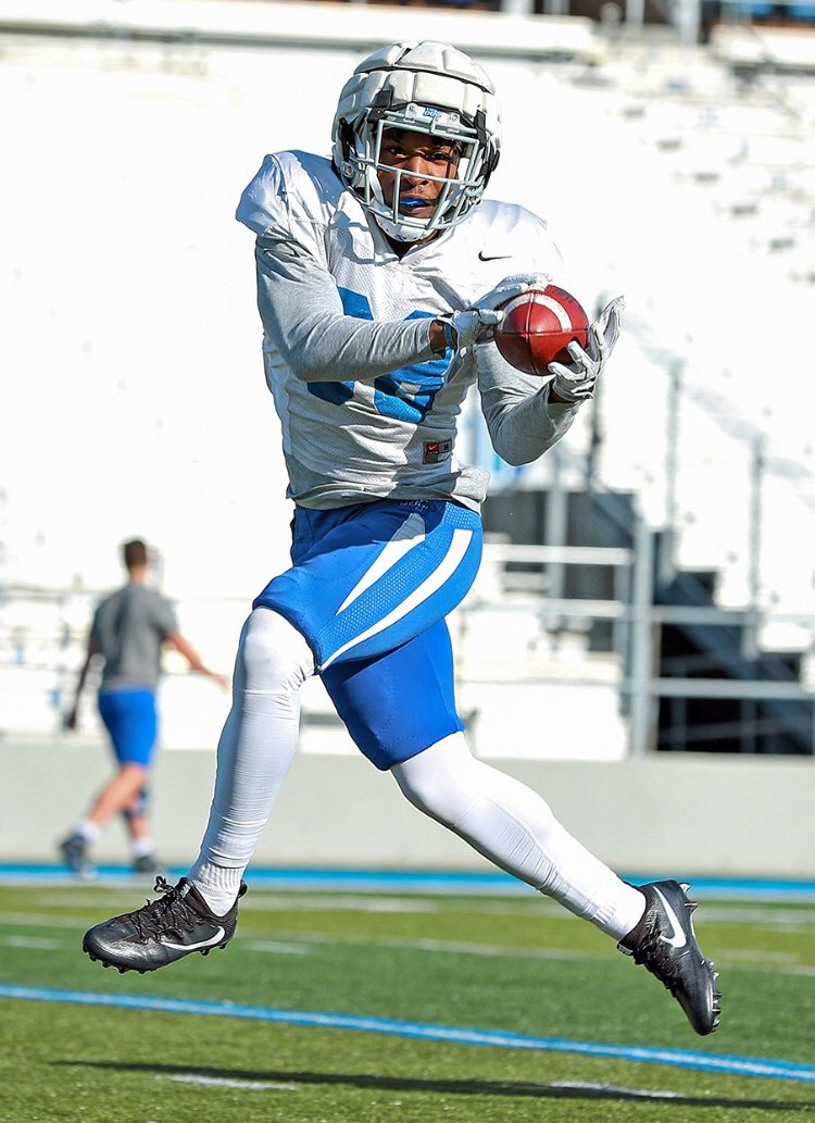 Former (@AsaAvengers ) JUCO Star CB @_KG2_ on his spring ball grind @MT_FB #JUCOPRODUCT