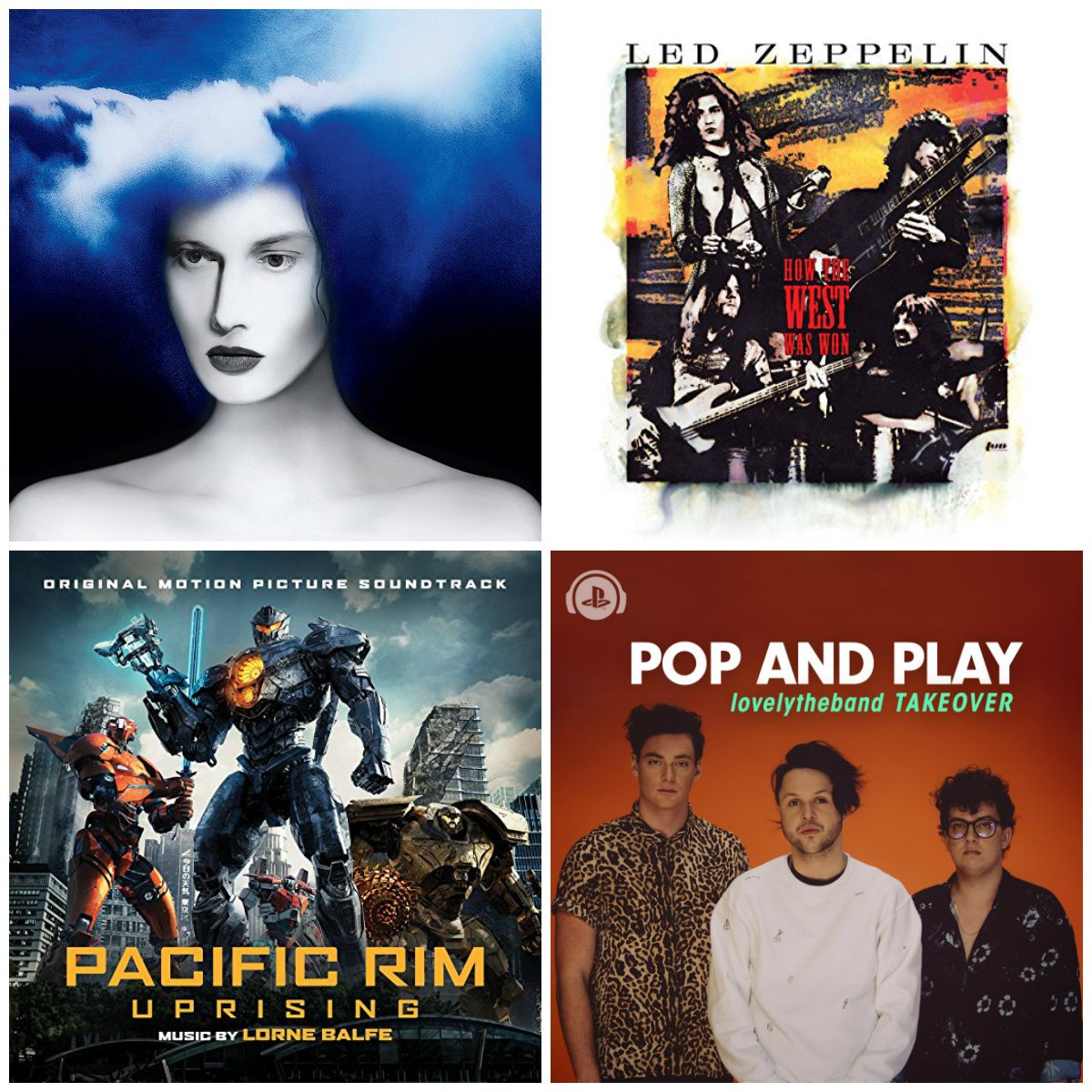 PS Music Recommends: New music from Jack White, the Pacific Rim Uprising Original Motion Picture Soundtrack, Led Zeppelin (Remastered) and more - streaming now on Spotify. Listen here: https://t.co/h8War2UXru