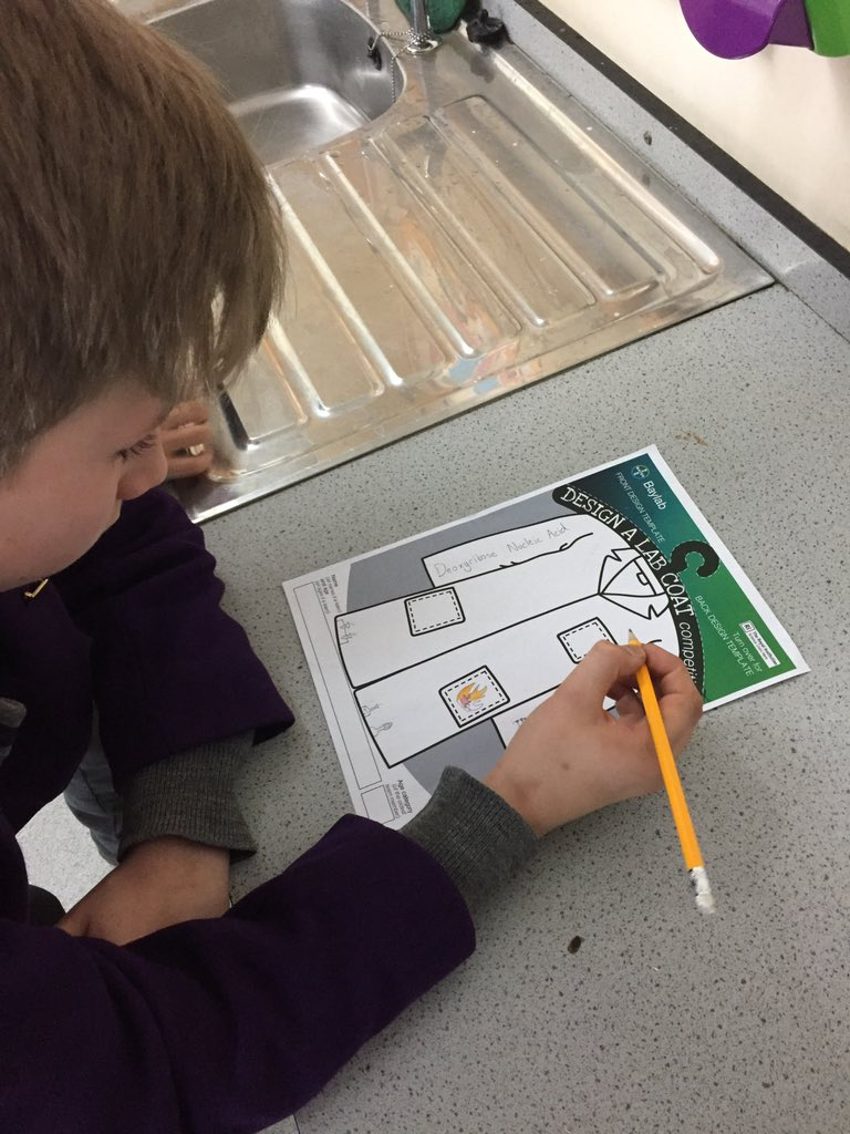 Y6 Designing Lab Coats On What Inspires Them In Science Labcoats BayLab SchoolYorkHouse TheYorkHouseWaypictwitter Fa07sFKlFs