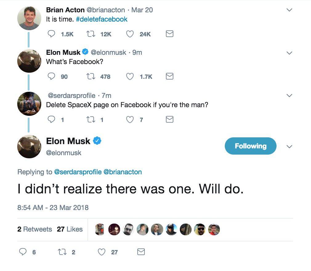 Elon Musk On Twitter Literally Never Seen It Even Once