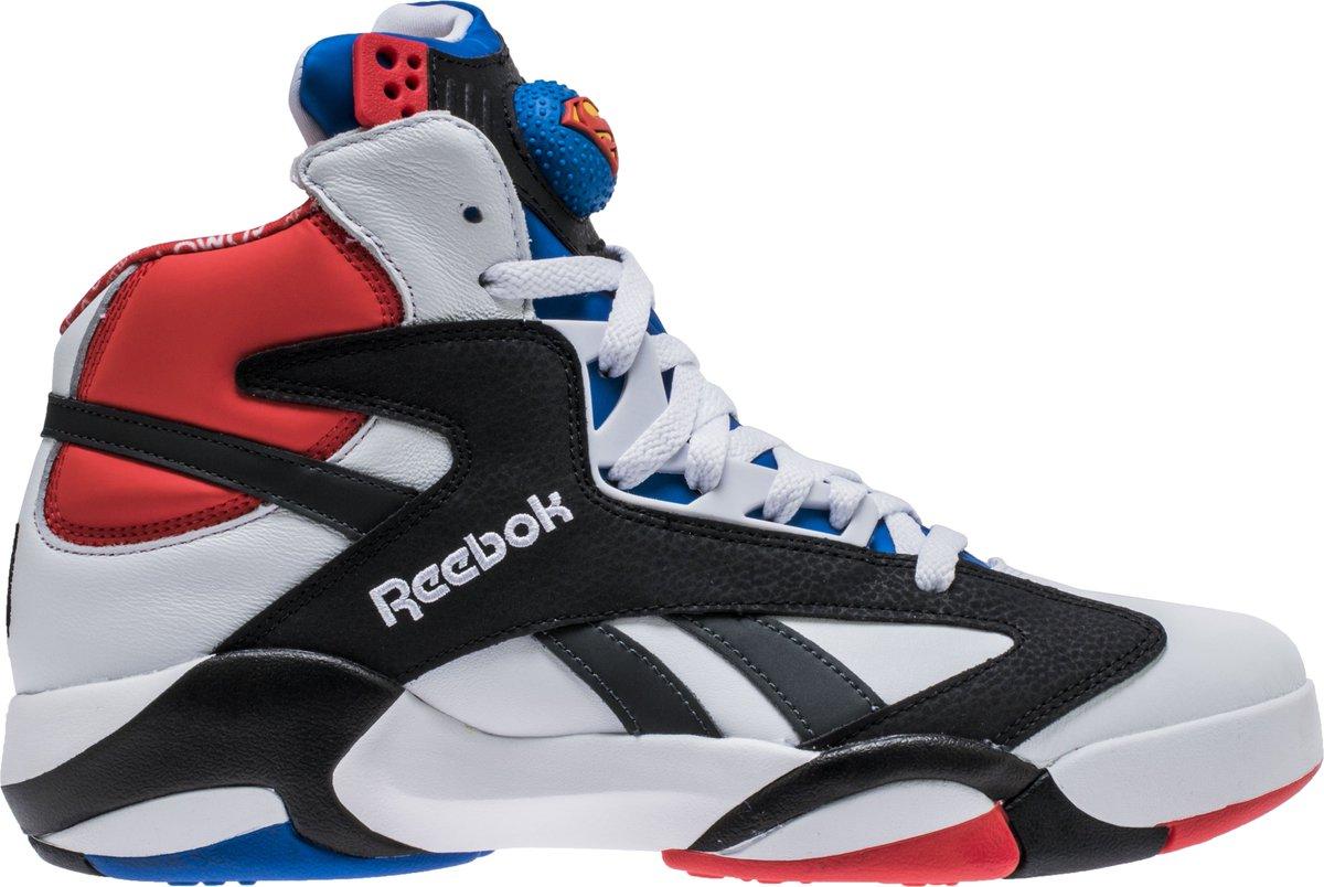 c3b81fcb56d shaq attaq x shoe palace all star weekend asw mens basketball shoe white  blue red shipped