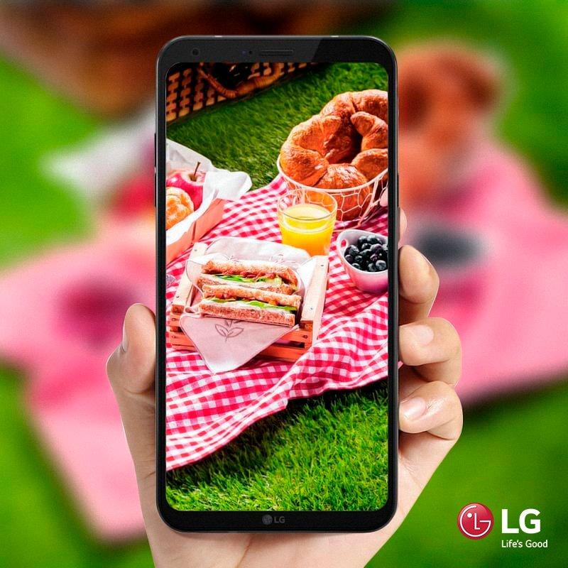 La pantalla de 5,5'' FullVision de tu LG Q6 hace que tus platos se vean irresistibles para compartir en cualquiera de tus redes sociales 🍝  Comprobalo vos mismo #LgQ6Paraguay https://t.co/5Vq6bYZviX