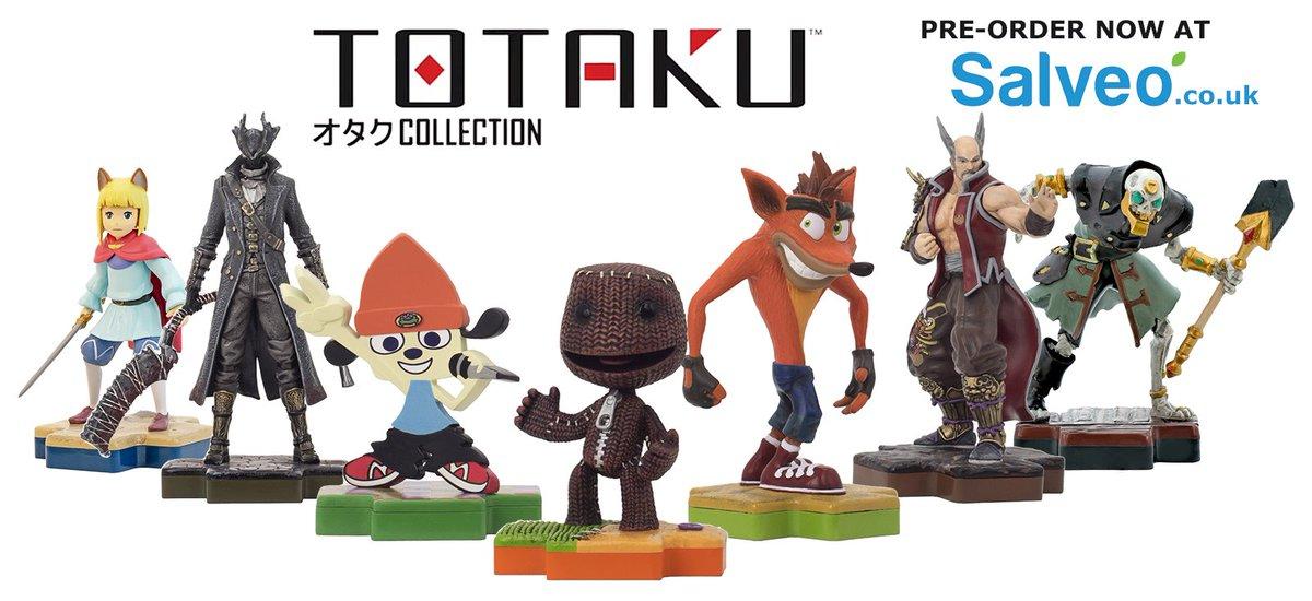 The excellent @mytotaku #Totaku figures...