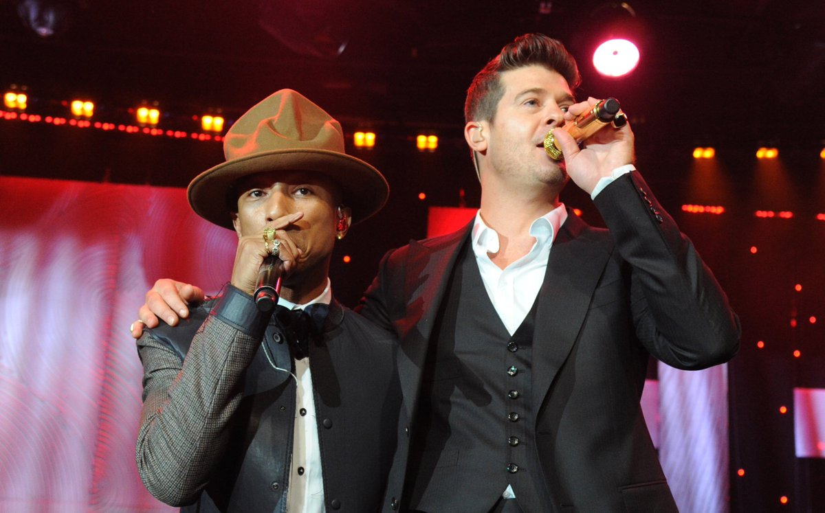 Marvin Gaye's family wins the 'Blurred Lines' appeal against Robin Thicke and Pharrell: https://t.co/D8EnivBRxY