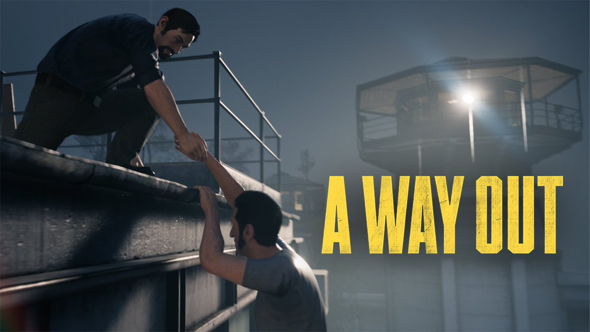 Are you ready to find #AWayOut? @josef_fares' new co-op game arrives today on Xbox: https://t.co/UbA2leZilC