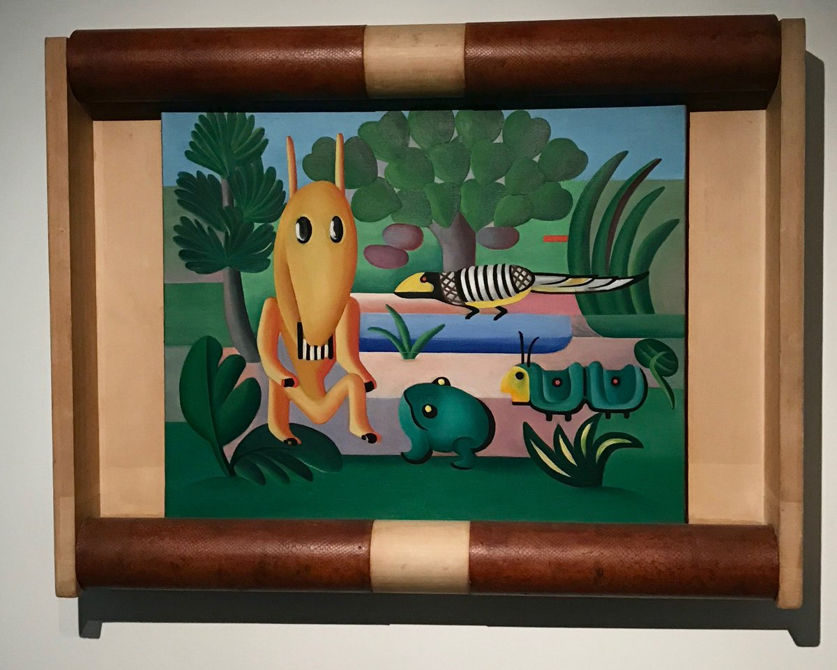 Moma the museum of modern art on twitter famous art deco a cuca 1924 is the only one to retain its original frame tarsilamomapicitterzxpxidad9l jeuxipadfo Image collections