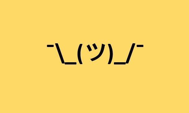 One Line Ascii Art Shrug : Stoplight stoplightio twitter