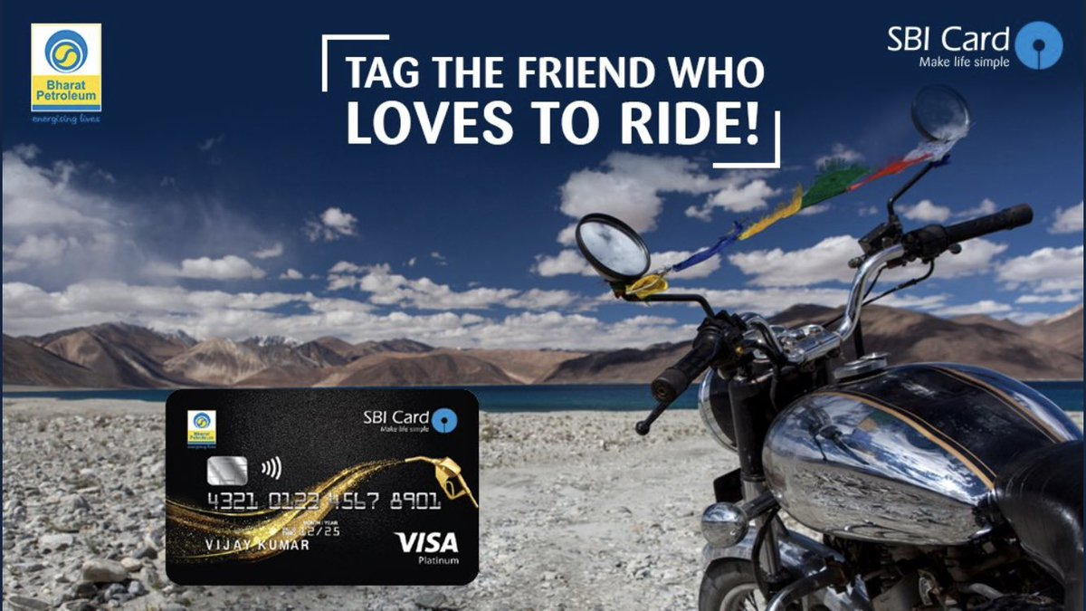 valueback on purchasing fuel at bpclimited petrol pumps with a bpcl sbicard_connect to help them save on fuel costs know more httpbitly2eexgrh - Loves Fuel Card
