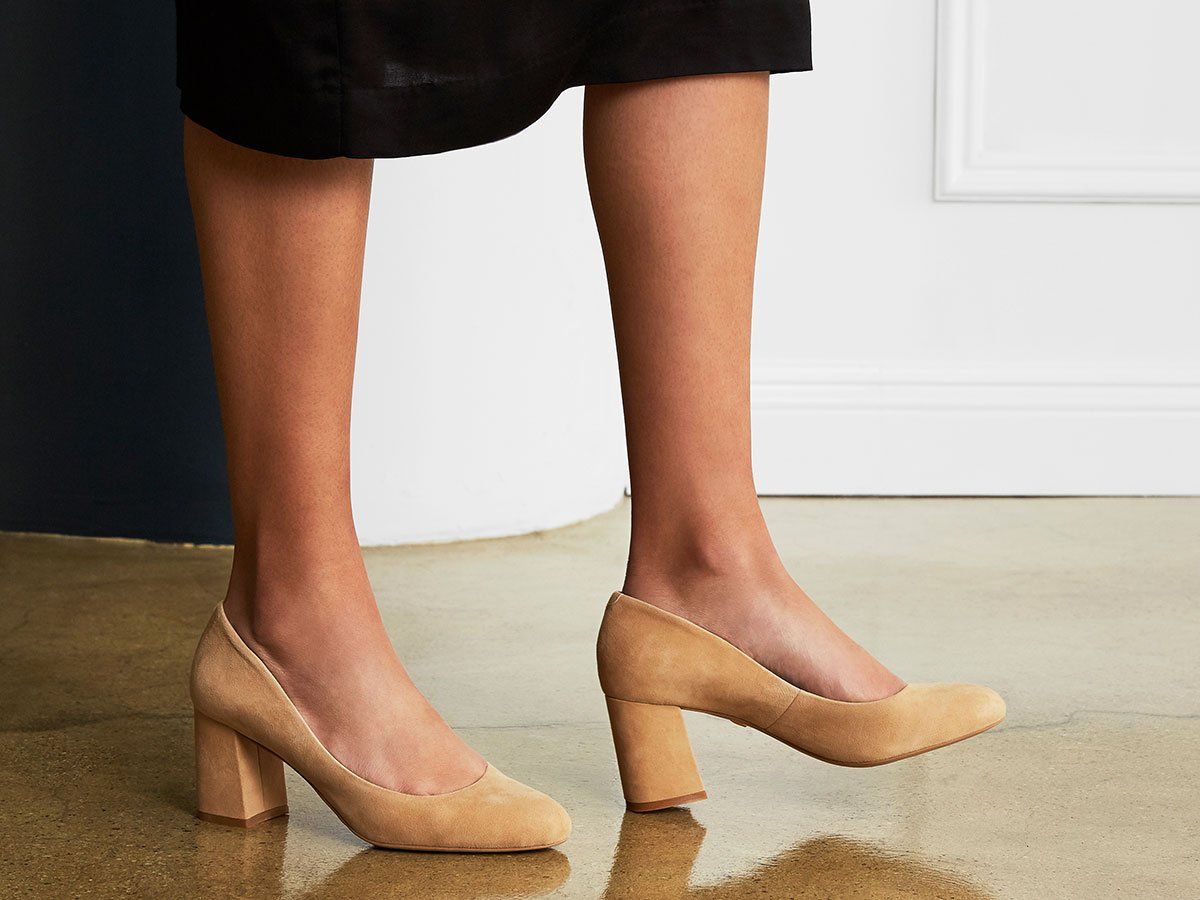 """Perfect lines, luxe construction, and a classic round toe are just a few features that make Savoca our most popular 3"""" stilletto heel. Available in all widths and US sizes 2-15. Make the Savoca heel yours: https://t.co/W8ZQMdiZfy https://t.co/ez7OlLJh5j"""