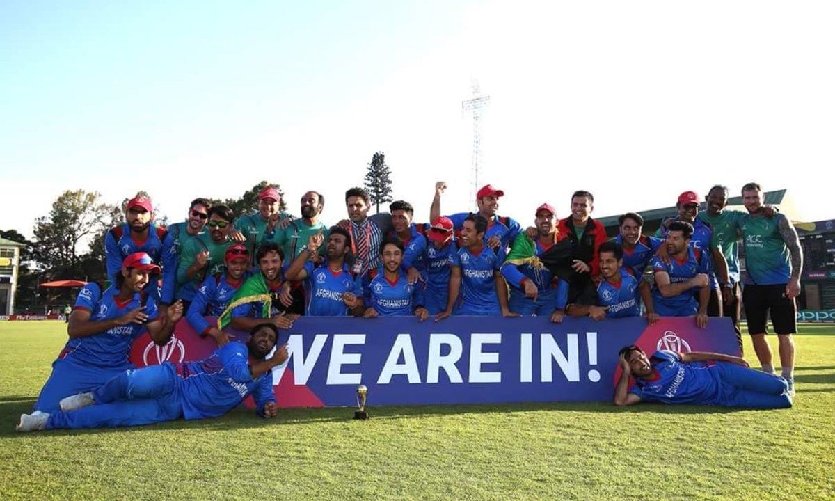 Congratulations to @ACBofficials for making it to the @ICC #WorldCup 2019.  #WeAreIn #cricket #CWCQ