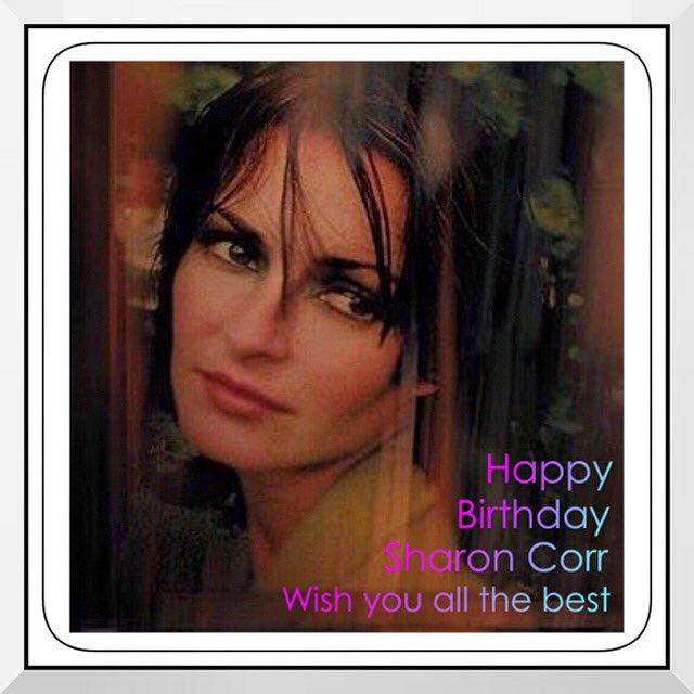 Happy birthday to you...       ...Sharon Corr...