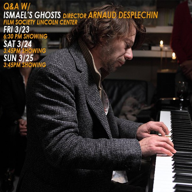 See director @arnaudesplechin this weekend at the @FilmLinc  Buy tickets  http:// bit.ly/Ismaelfilmsoci ety &nbsp; … <br>http://pic.twitter.com/9uEru2CThs