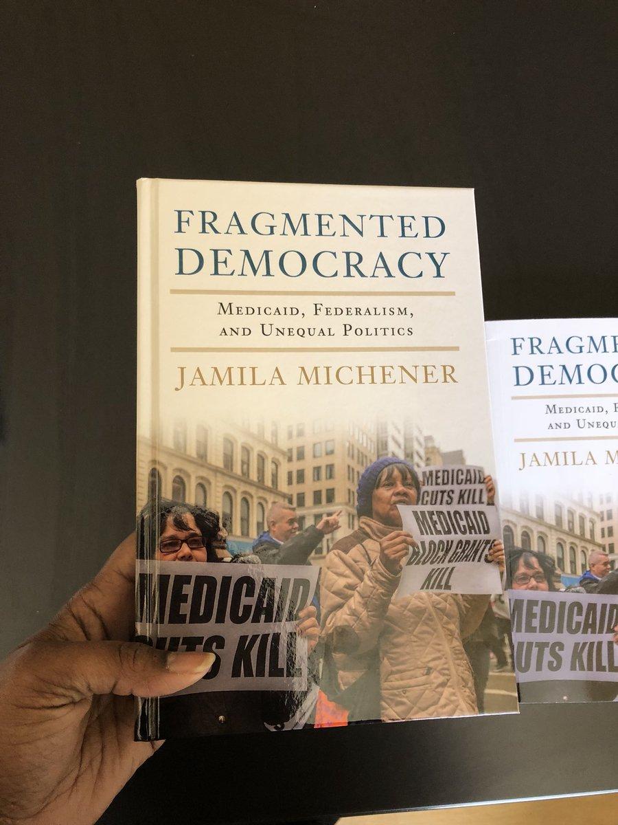 fragmented democracy medicaid federalism and unequal politics