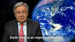 António Guterres's photo on #EarthHour