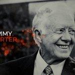 Image for the Tweet beginning: Former U.S. President Jimmy Carter