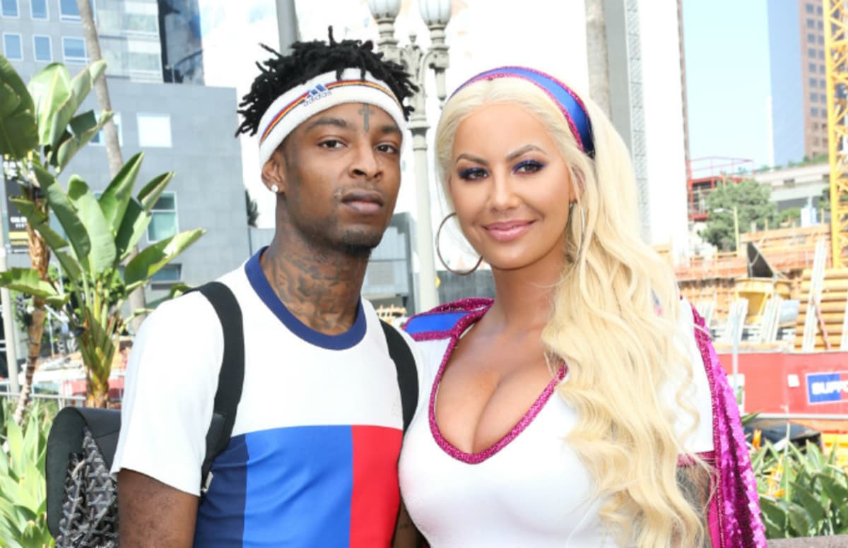 Amber Rose on 21 Savage: 'Hopefully we can work it out.' https://t.co/a6WdI8Fq5m