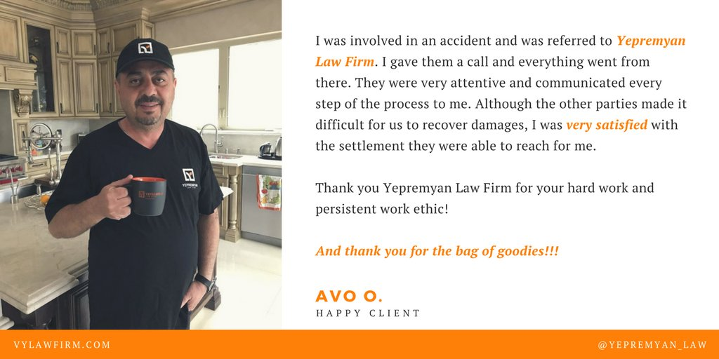 Oh Law Firm >> Yepremyan Law Firm On Twitter Another Happy Client In The