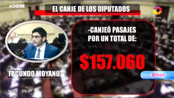 ¡EL CANJE DE LOS DIPUTADOS!  Facundo Moy...