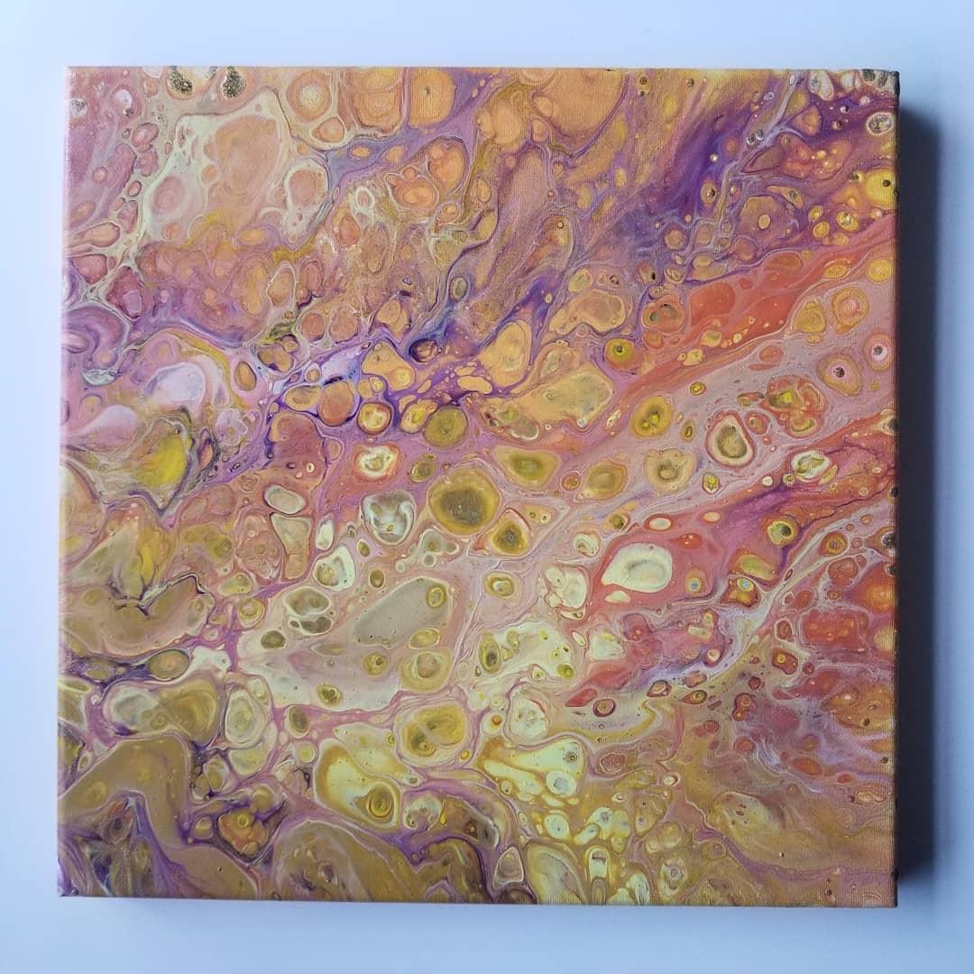 Southwest Acrylic Abstract Art