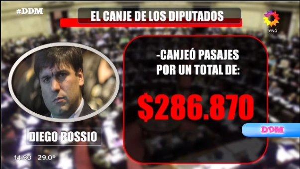 ¡EL CANJE DE LOS DIPUTADOS!  Diego Bossi...