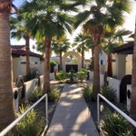 Image for the Tweet beginning: The stunning #LaSerenaVillas in @PalmSpringsCA!