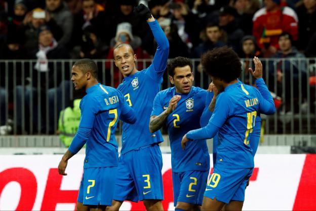 Le Brésil s'est logiquement imposé ce vendredi en match amical face à la Russie, à Moscou. Mardi, face à l'Allemagne, la tâche devrait être plus ardue https://t.co/NU7AxS7tW1
