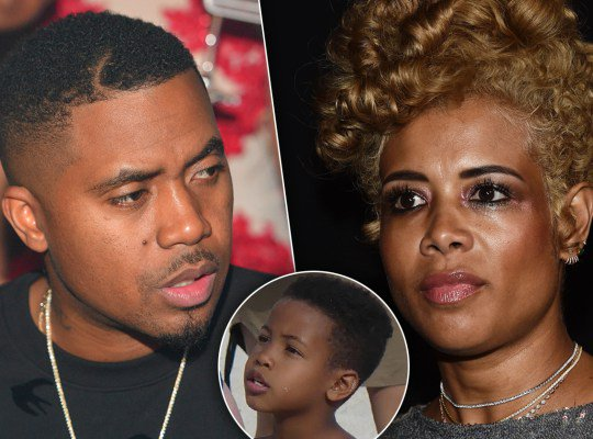 Nas and Kelis still hammering their custody agreement into the wall