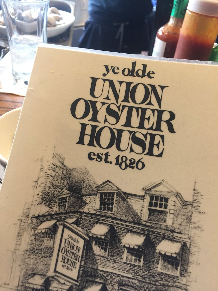 I'm at the oldest restaurant in America....