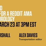 Happening soon: Join WIRED's @AarianMarshall and @adavies47 for a Reddit AMA to discuss what the first self-driving car fatality means for the technology's future, and how it's regulated https://t.co/fuTXBUTcYf