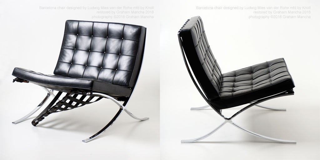 Graham Mancha On Twitter Ludwig Mies Van Der Rohe Barcelona Chair