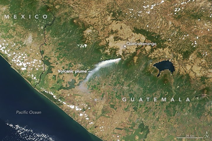 Another Puff from Santa María  https://t.co/LRhOGhd4lH #NASA