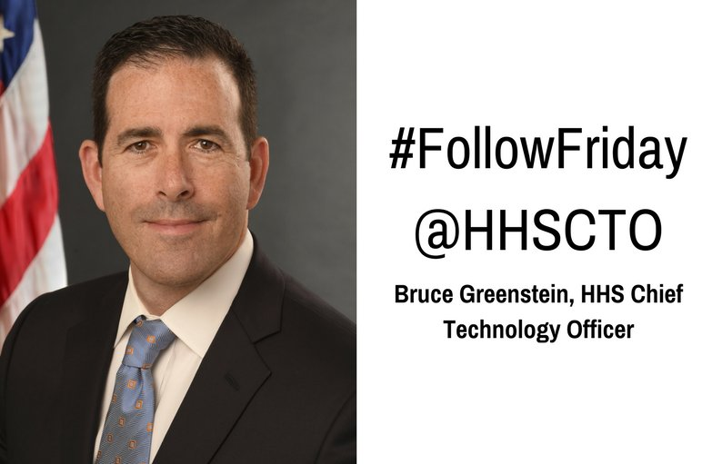 #DYK you can follow the HHS Chief Technology Officer @HHSCTO ? #FF