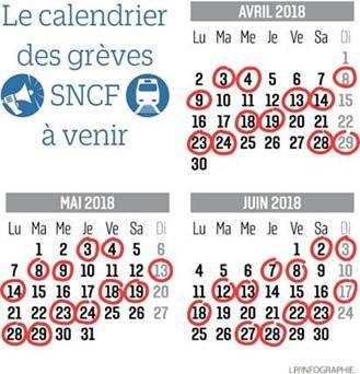 Calendrier Jour De Greve Sncf.Magali Sagny On Twitter Calendrier Des Greves La Sncf